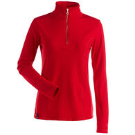 NILS Women's Robin Quarter-Zip Turtleneck Long-Sleeve Top
