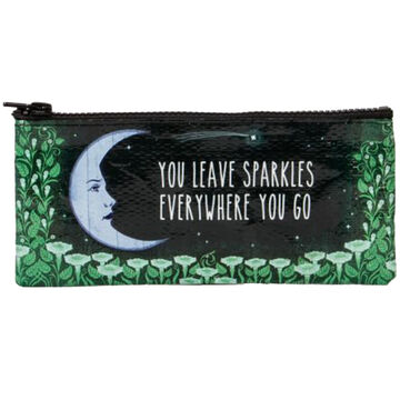 Blue Q Womens You Leave Sparkles Everywhere You Go Pencil Case
