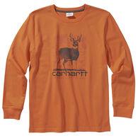 Carhartt Boy's Graphic Long-Sleeve Shirt