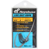 Hayabusa Offset Bend Live Bait Saltwater Hook - 7 Pk.