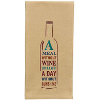 Park Designs A Meal Without Wine Dishtowel