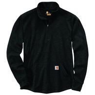 Carhartt Men's Big & Tall Relaxed Fit Heavyweight Half-Zip Thermal Long-Sleeve T-Shirt