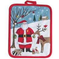 Kay Dee Designs Woodland Christmas Santa Potholder