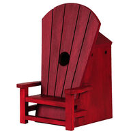 Outside Inside Adirondack Chair Birdhouse