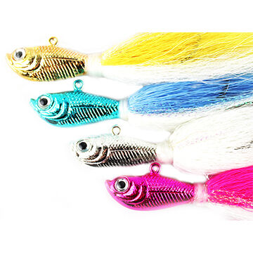 Spro Chrome Bucktail Jig