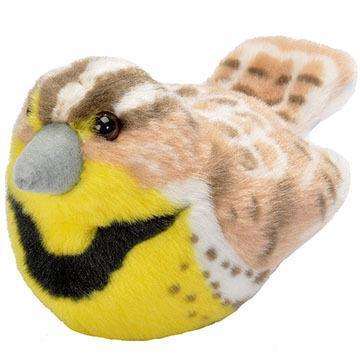 Wild Republic Audubon Stuffed Animal - Western Meadowlark