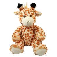 Wishpets Stuffed Sitting Giraffe