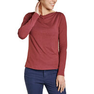 Toad&Co Women's Bel Canto Drape Neck Long-Sleeve Shirt