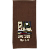 Park Designs Happy Campers Dishtowel