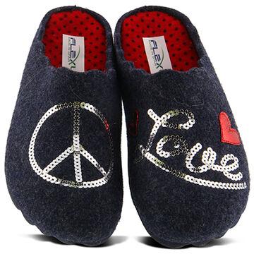 Spring Footwear Womens Peaceful Wool Slipper