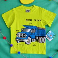 Spudz Toddler Boys' Dump Truck Short-Sleeve T-Shirt