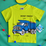 Spudz Boys' Dump Truck Short-Sleeve T-Shirt