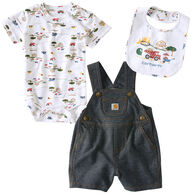 Carhartt Infant/Toddler Boys' Construction Set, 3pc