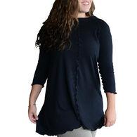 angelrox Women's Swing 3/4-Sleeve Top