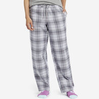 Life is Good Women's Grey Grape Plaid Classic Sleep Pant