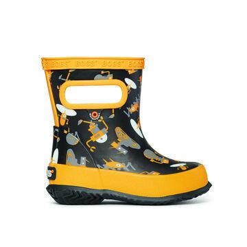 Bogs Boys Skipper Robots Rain Boot