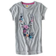 Carhartt Girl's Wild Flower Deer Short-Sleeve T-Shirt