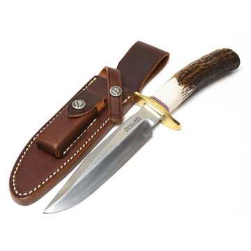 Randall Model 1 All Purpose Fighting Stag Handle Fixed Blade Knife