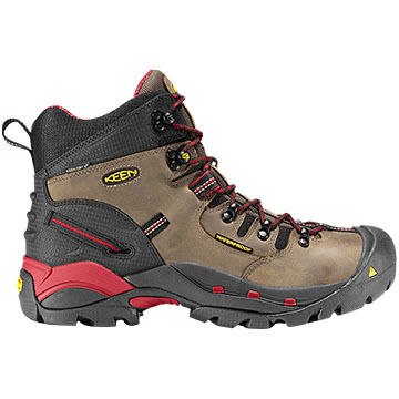 Keen Mens Pittsburgh Waterproof Steel Toe Safety Work Boot