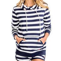 Southern Tide Women's Soleil Striped Hoodie