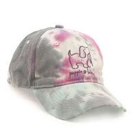 Puppie Love Women's Cotton Candy Tie Dye Baseball Hat