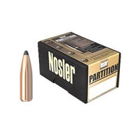 "Nosler Partition 30 Cal. 180 Grain .308"" Spitzer Point Rifle Bullet (50)"