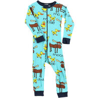 Lazy One Infant Boys' Duck Duck Moose Union Suit
