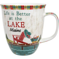 Cape Shore Maine Life Is Better At The Lake Harbor Mug