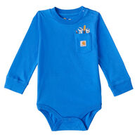 Carhartt Infant Boy's Graphic Long-Sleeve Bodysuit Onesie