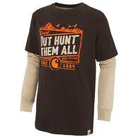Carhartt Boys' Out Hunt Them All Layered Long-Sleeve T-Shirt