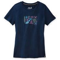 SmartWool Women's Merino 150 Sport Spring Leaves Graphic Short-Sleeve T-Shirt