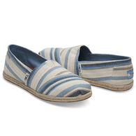TOMS Women's Woven Alpargata Slip-On Shoe