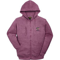 Renegade Club Women's Pinecone Maine Fleece Full Zip Hooded Sweatshirt