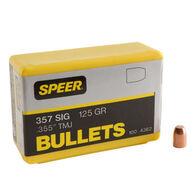 "Speer TMJ 357 Sig / 38 Super 125 Grain 0.355"" TMJ FN Handgun Bullet (100)"