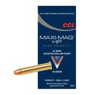 CCI Maxi-Mag 22 Winchester Magnum 40 Grain JHP Ammo (50)