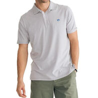 Southern Tide Men's Channel Marker Micro-Striped Polo Short-Sleeve Shirt