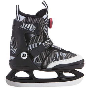 K2 Childrens Rink Raven Boa Adjustable Ice Skate