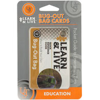 UST Learn & Live Bug Out Bag Cards