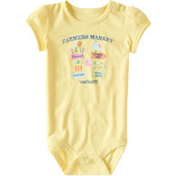 Carhartt Infant/Toddler Girls' Farmers Market Bodysuit