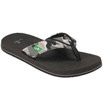 Sanuk Boys' Root Beer Cozy Sandal