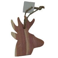 Chichester Deer Cedar Silhouette Ornament