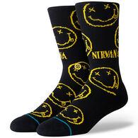 Stance Men's Nirvana Face Crew Sock