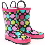 Western Chief Girls' Classic Dot Party Rain Boot