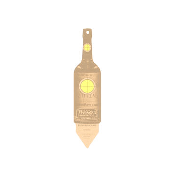 Woodys Recycled Wood Bottle Target - 6 Pk.