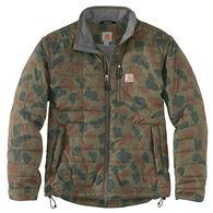 Carhartt Men's Rain Defender Lightweight Insulated Camo Mock Neck Jacket