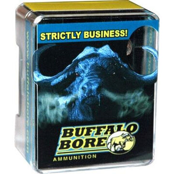 Buffalo Bore Tactical Short Barrel Lower Recoil Low Flash 357 Magnum 125 Grain JHP Handgun Ammo (20)