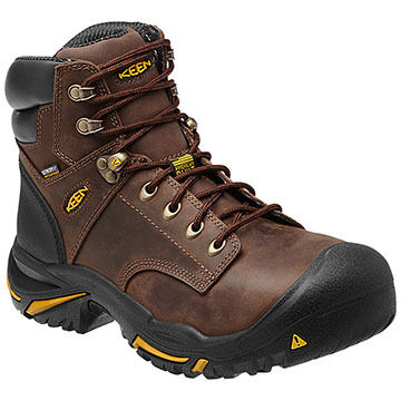 Keen Mens Mt Vernon Steel Toe Waterproof Work Boot