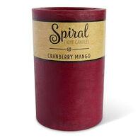 Spiral Light Large Candle - Cranberry Mango