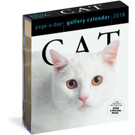 Cat 2018 Page-A-Day Gallery Calendar by Workman Publishing