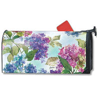 MailWraps Hydrangeas Magnetic Mailbox Cover